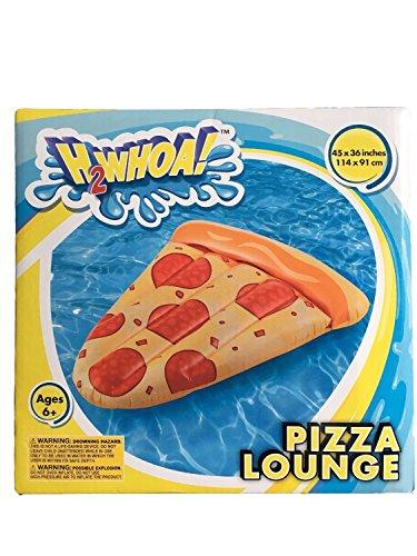 Kids Backyard Fun Play H2Whoa Pool Pizza Slice Slide Inflatable Center Summer Outdoor Pool Fun Swimming