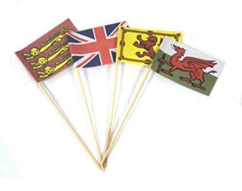 - Childrens Set of 5 Sand Castle Flags - Summer GardenSandpitBeach Fun by Onthebeach