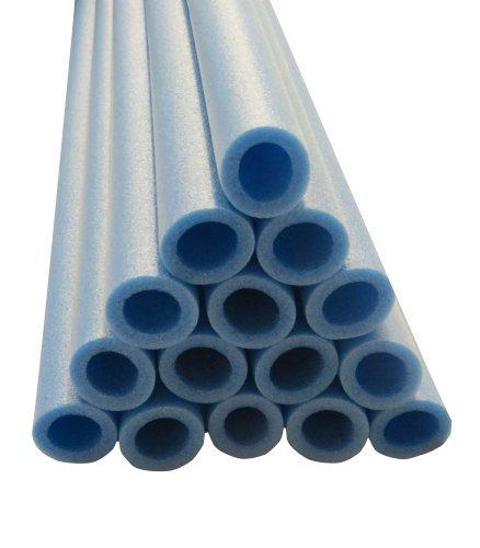 33 Inch Trampoline Pole Foam sleeves fits for 1 Diameter Pole - Set of 12 -Blue by Upper Bounce