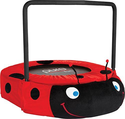 Pure Fun Ladybug Jumper Trampoline Red