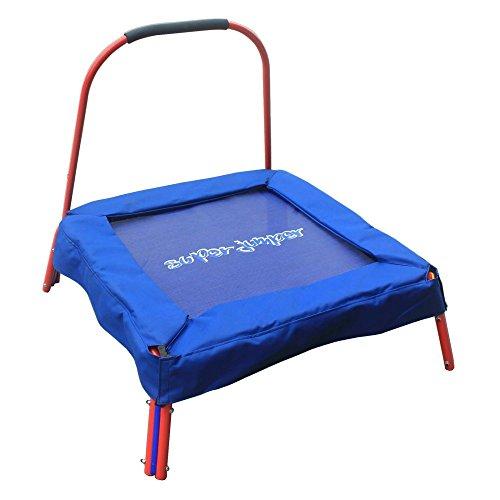 Super Jumper Junior Mini Trampoline Blue