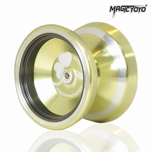 MAGICYOYO&Yostyle Silencer M001-B Yo-yo Ball Alloy 6061 Unresponsive Yo-yo Yellow