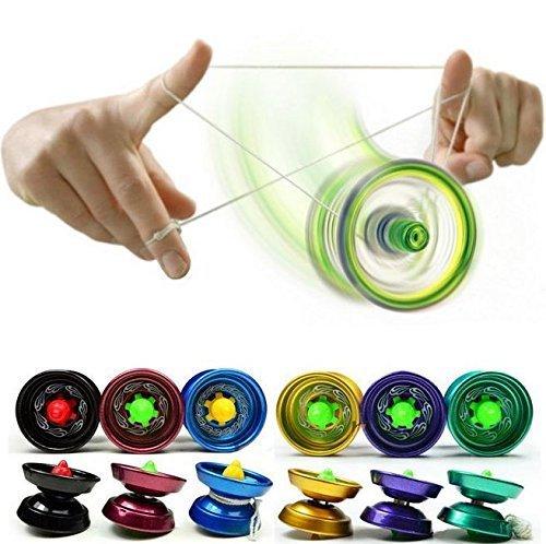 New Cool Aluminum Design Professional YoYo Ball Bearing String Trick Alloy Kids by GokuStore