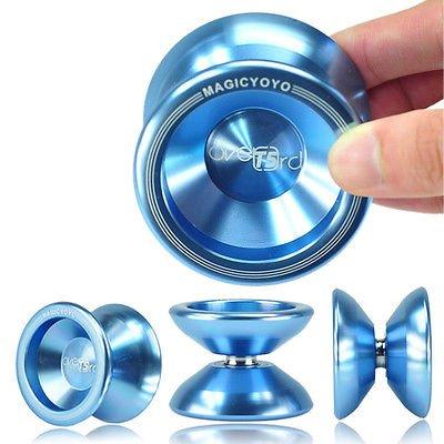 NEW Light Blue Magic YoYo T5 Overlord Aluminum Kids Toy Yo Yo with String