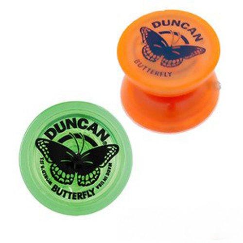 Duncan Butterfly Yo-Yo - Two pack - Orange and Green