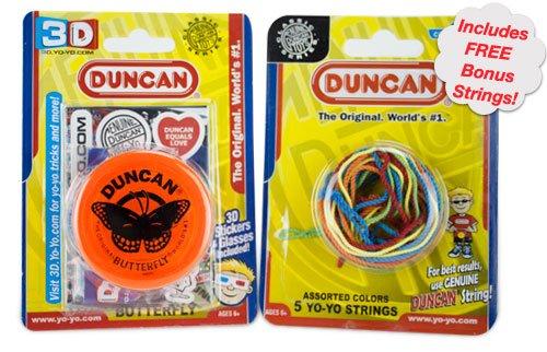 Duncan Butterfly Yo-Yo with Free Bonus Strings
