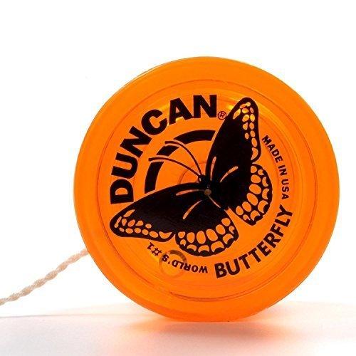 Genuine Duncan ButterflyYo-Yo Classic Toy - Orange