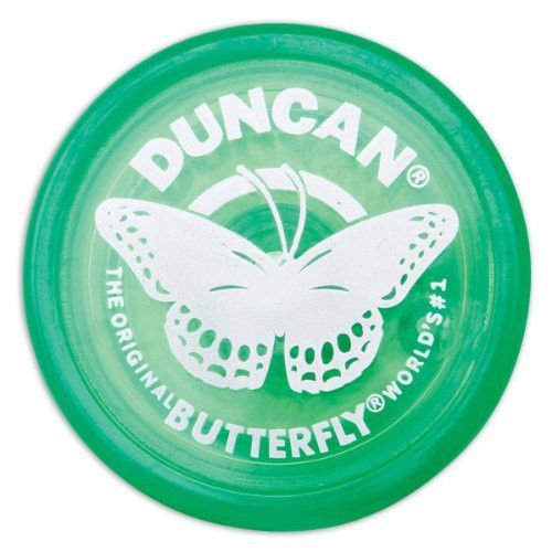 Duncan Butterfly Yo-Yo - Green