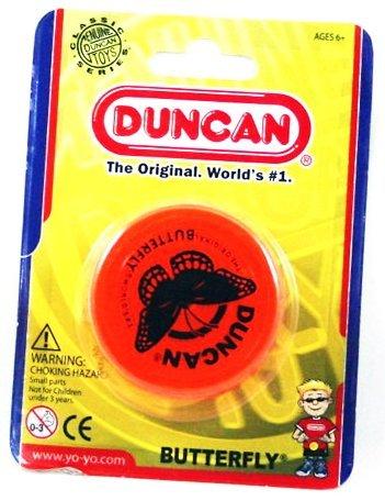 Duncan YoYo Butterfly - Classic string YoYos - UV Orange by Flames N Games Yo Yos