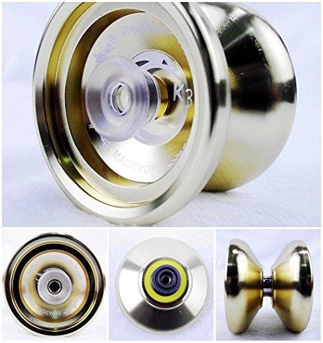 2014 the Latest New K3 Aluminum Alloy Professional Yoyo Toys Gold by MAGICYOYO