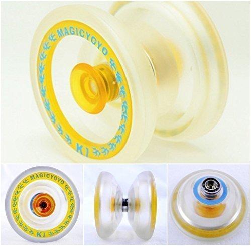 Magic Yoyo 2014 the Latest New K1 PVC Professional Yoyo Toys Clear by MAGICYOYO