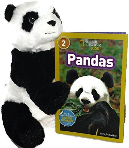 Pandas Stuffed Animal And Panda Kid Book Bundle