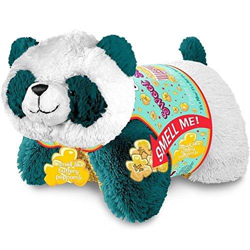 Pillow Pets Sweet Scented - Popcorn Panda Stuffed Animal Plush Toy