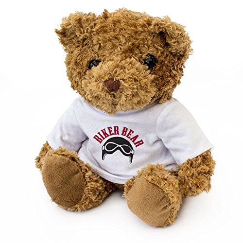 NEW Biker Bear - Cuddly Teddy Bear - Motorbike Gift Present