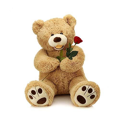 Stuffed Teddy Bear Cuddly Plush Animal Toys Huggable Christmas New Year GiftCoffee 39