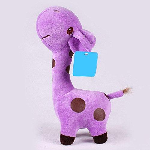 18x8cm Unisex Baby Kid Cute birthday Gift Plush Giraffe Soft Toy Animal Dear Doll