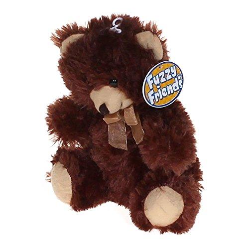 12 Fuzzy Friend Dark Brown Teddy Bear Super Soft Cuddly All Ages