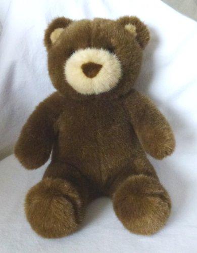 Build a Bear Workshop Brown Teddy Bear Plush Tan Nose and Ears - 15 Tall