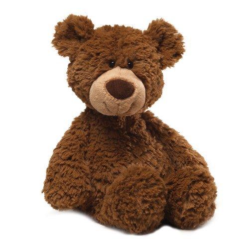 GUND 4040161 Pinchy Teddy Bear Brown