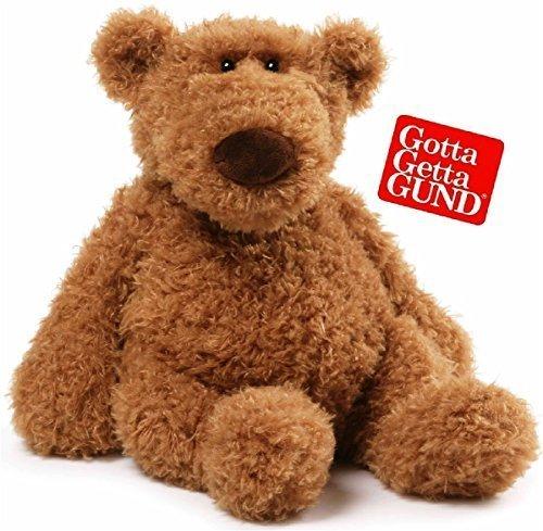 Gund Schlep Brown Teddy Bear Stuffed Animal Plush 14 inches