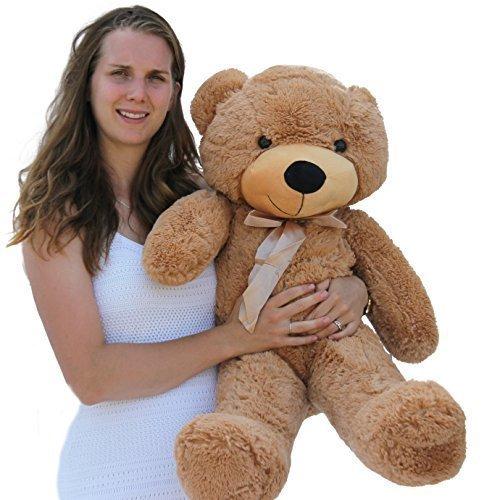 Joyfay 39 100cm Light Brown Teddy Bear Stuffed Plush Toy