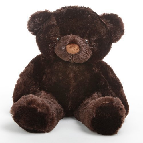 Munchkin Chubs - 30 - Irresistibly Cute Extra Plump Chocolate Brown Plush Teddy Bear