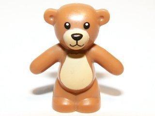 NEW Lego Minifig Light Brown Teddy Bear - Boygirl Friends Minifigure Toy Animal