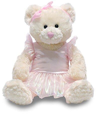Cuddle Barn 12 Musical Bella Ballerina Plush Stuffed Animal Plays Swan Lake