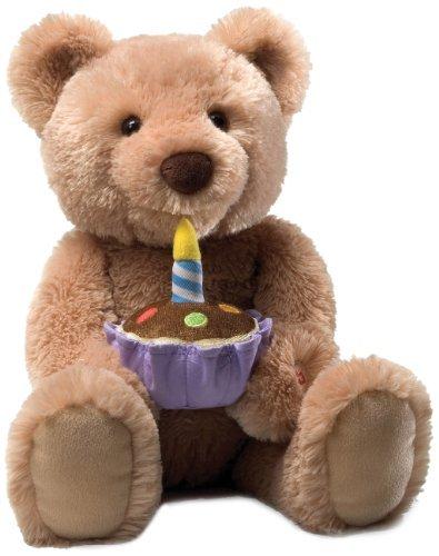Gund Birthday Teddy Bear Animated Musical Stuffed Animal by GUND