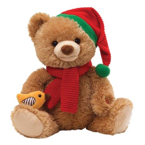 Gund Caroling Bear Animated Musical Stuffed Animal