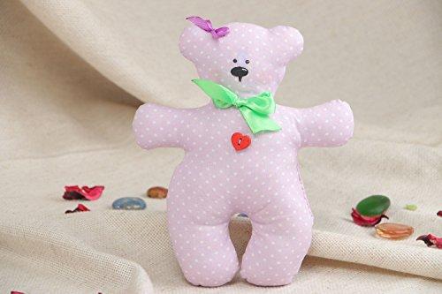 Childrens Handmade Fabric Soft Toy Bear