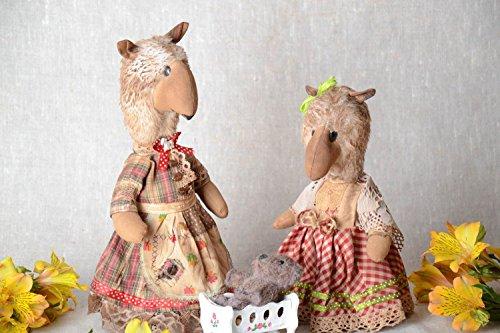 Set Of 3 Handmade Designer Flavored Fabric Soft Toys Bears
