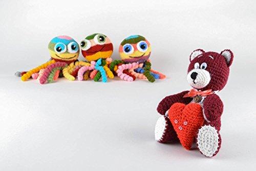 Small Crochet Soft Toy Bear
