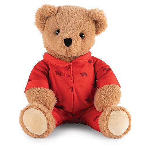 Vermont Teddy Bear Cuddly Toy - Teddy Bears Stuffed Animals 13 Inch PJ Pals