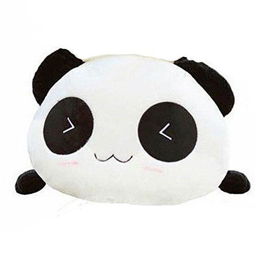 COFFLEDÂ New Arrivals Cute Lovely Panda Dolls Smiling Giant Panda Plush Toy Lumbar Pillow Doll 25cm