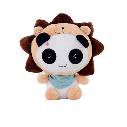 Cute Panda Plush Toy Smile Stuffed Panda Toy Horoscope Panda 16 Leo