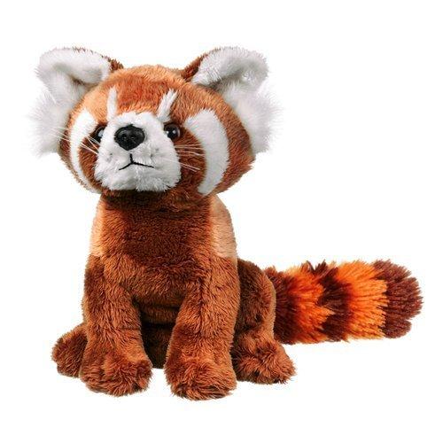 Wildlife Artists Panda Plush Toy Red