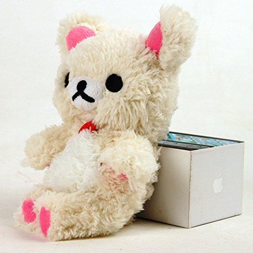 3D Cute Toy Bear Samsung S7 Edge Case-Aurora Stylish Cute 3D Cartoon Soft Bear Doll Toy Plush Case Cover For Samsung S7 Edge Samsung S7 edge White