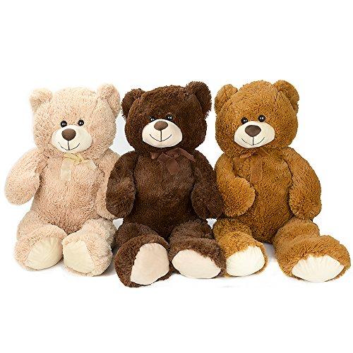Large Ultra Soft and Cozy Plush Teddy Bear 3 Feet - Beige