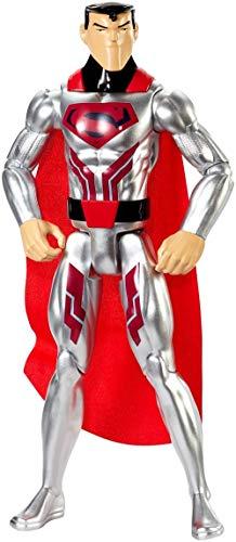DC Comics Justice League Action Steel Suit Superman Figure