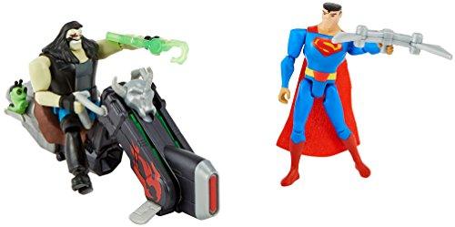 DC Justice League Action Superman Vs Lobo Figures