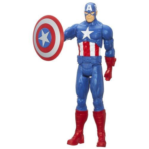 Avengers Titan Hero Captain America 12 Action Figure