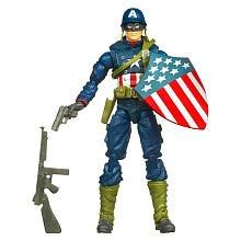 Captain America Movie 4 Inch Series 1 Action Figure Battlefield Captain Ameri