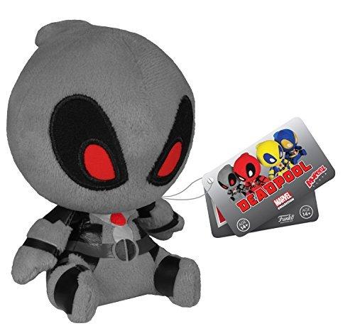 Deadpool Gray X-Force Mopeez Marvel Plush by Deadpool