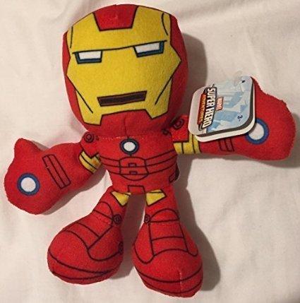 Marvel Super Hero Adventures Iron Man 6 Inch Plush Figure