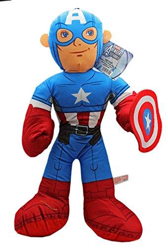 Marvels Avengers Assemble Captain America Stuffed Plush Toy 18in
