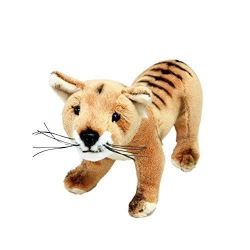 Bocchetta Plush Toys Sammy Australian Tasmanian Tiger Thylacine Stuffed Animal Tassie Tiger Size 28cm11″