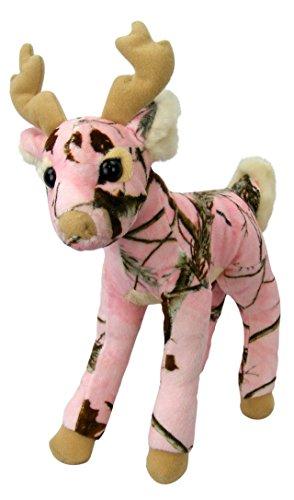 Pink Camo Realtree Deer 14 Inch Animal Camouflage Stuffed Animal Soft Plush