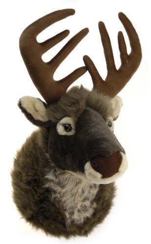Plush Deer Head Stuffed Toy by Koopman