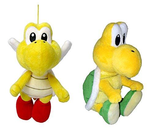Little Buddy Mario Plush Doll Set of 2 - Pata Pata Koopa Troopa